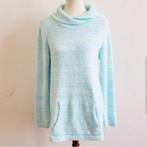 Soft Surroundings Soft Blue Sweater Medium